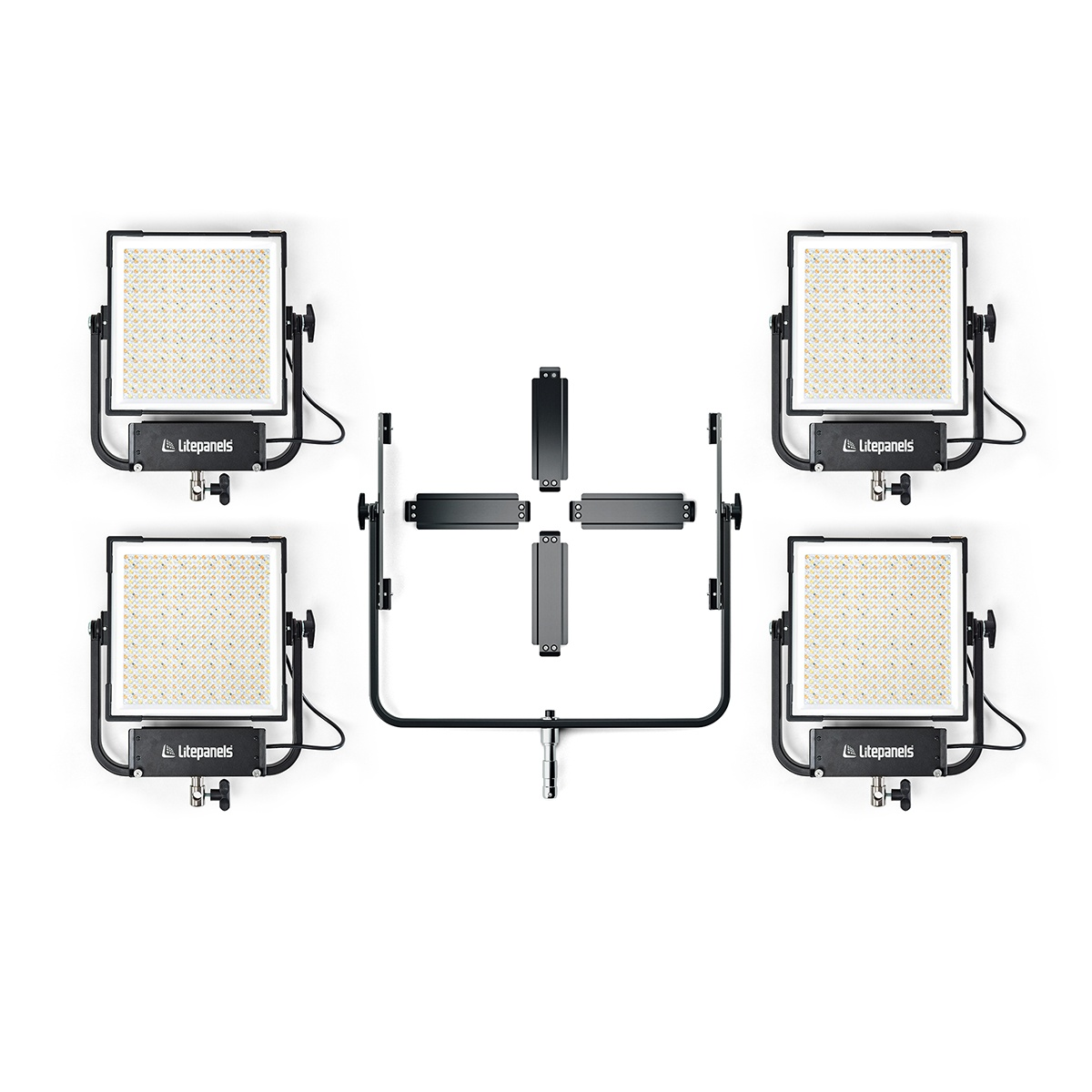 Gemini 1x1 Hard Quad Array Light Kit