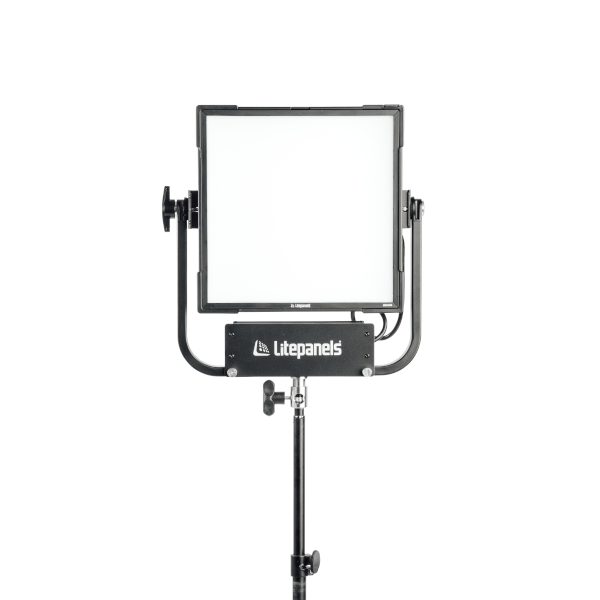 Gemini 1x1 Soft RGBWW LED Panel (Pole-Operated Yoke, UK Power Cable)